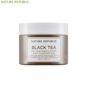 NATURE REPUBLIC Real Fresh Black Tea Nourishing Mask 100ml
