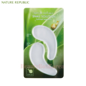 NATURE REPUBLIC Snail Solution Hydrogel Eye Patch 9g (4.5g*2ea)