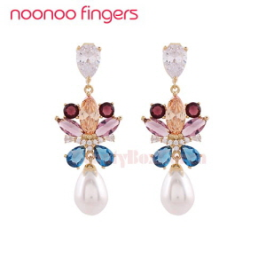 NOONOOFINGERS Rose Bouquet Earrings 1pair