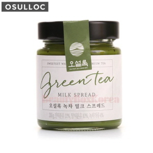 OSULLOC Green Tea Milk Spread 200g