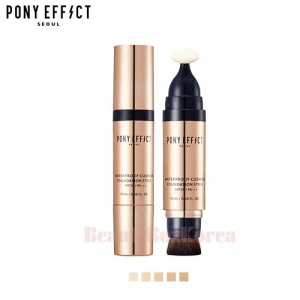 PONY EFFECT Waterproof Cushion Foundation Stick SPF30 PA+++ 5 Colors 15ml,PONY EFFECT