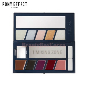PONY EFFECT Galaxy Holographic Palette 12g