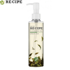 RE:CIPE Green Tea Cleansing Oil 200ml, RE:CIPE
