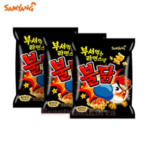 SAMYANG Breaking Ramen Snack Roast Chicken 90g*3ea
