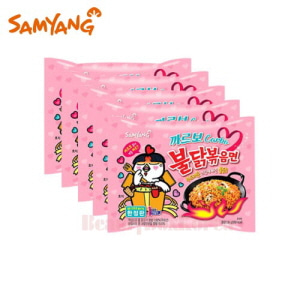 SAMYANG Carbo Hot Chicken Flavor Ramen 130g*5ea