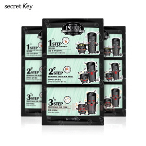 SECRET KEY Black Out Pore 3-Step Nose Pack 7g