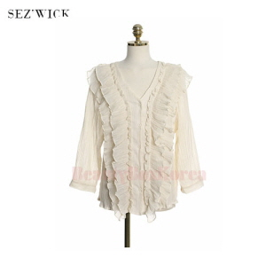 SEZ'WICK Lightly Frill Blouse 1ea