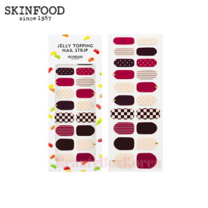 SKINFOOD Jelly Topping Nail Strip 1ea (20 Strips)