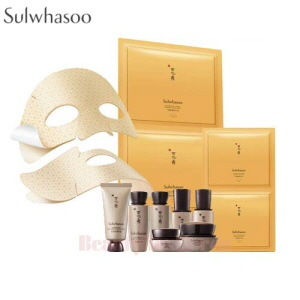 SULWHASOO Concentrated Ginseng Renewing Creamy Mask 18g*5ea With Gift Set