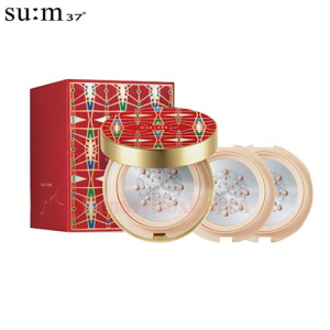 SU:M37˚ Air Rising TF Glow Cover Metal Cushion SPF50+PA+++ 15g*2ea [Holliday Edition]