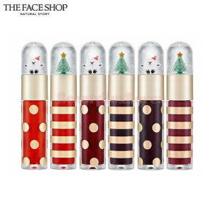 THE FACE SHOP Holiday Twinkle Snowing Tint 5.5g [All The Wishes Edition]