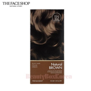 THE FACE SHOP Stylist Silky Hair Color Cream 60g+60g+10g