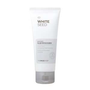 THE FACE SHOP White Seed Exfoliating Foam Cleanser 150ml, THE FACE SHOP