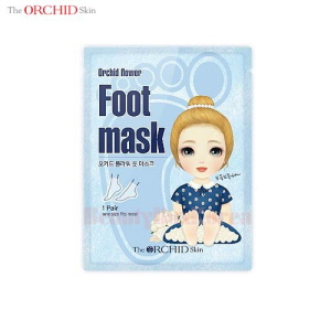 THE ORCHID SKIN Orchid Flower Foot Mask 1 Pair