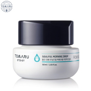 TOMARU Soulful Morning Drop Power Cream - Aqua Pump 50ml, TOMARU