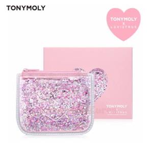 TONYMOLY Love Is True Glitter Mini Pouch Wallet 1ea