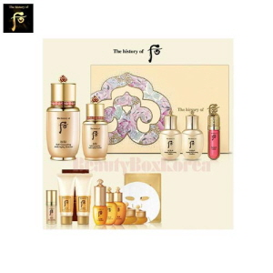 THE HISTORY OF WHOO Self-Generating Essence Special set 14items