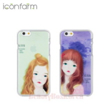 ICONFARM 2Items Narin Illustration Jelly Phone Case