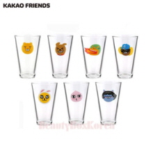 KAKAO FRIENDS Highball Glass 1ea,Mu&U,Beauty Box Korea