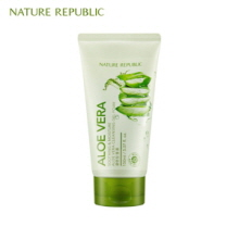 NATURE REPUBLIC Soothing & Moisture Aloe Vera Cleansing Gel Foam 150ml, NATURE REPUBLIC