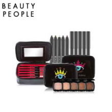 BEAUTY PEOPLE Eye Gangster Edition Pouch (with  First Highliner Brush Pencil 5 colors)h, Beauty People