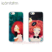 ICONFARM 4Items Eun R Illustration Jelly Phone Case,ICONFARM ,Beauty Box Korea