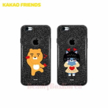 KAKAO FRIENDS 8 Items Black Glitter Jelly Phone Case