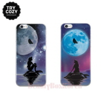 TRYCOZY Disney The Little Mermaid 5 Items Jelly Phone Case,Beauty Box Korea