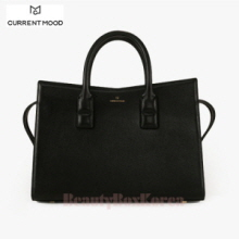 CURRENT MOOD Mood Bag Tote Black,Beauty Box Korea