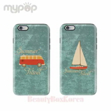 MYPOP 4Items Travel Tough Phone Case,Beauty Box Korea