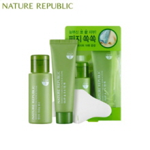 NATURE REPUBLIC Bamboo Charcoal Nose & T-Zone Pack 33ml+25ml, NATURE REPUBLIC