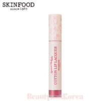 SKINFOOD Apricot Delight Cotton Lip Lacquer 4.5g,Skinfood,Beauty Box Korea