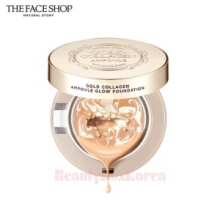 THE FACE SHOP Gold Collagen Ampoule Glow Foundation 10g,THE FACE SHOP,Beauty Box Korea