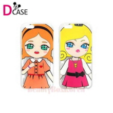 D-CASE 5Item Talk Dolls Clear Jelly Phone Case