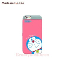 MADEWELL-CASE Doraemon Card Bumper Pink Emon, MADEWELL-CASE