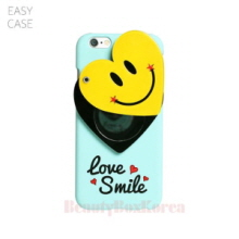 EASYCASE Heart Smile Mirror Phone Case Mint,EASYCASE,Beauty Box Korea