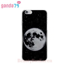 GANDA79 6Items Moon Jelly Phone Case