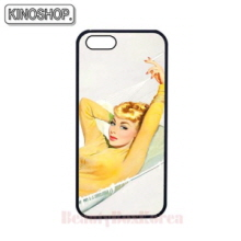 KINOSHOP Pin-up Girl Jane Skinny Fit Phone Case,Beauty Box Korea