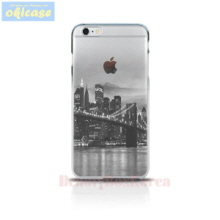 OKICASE Jelly Phone Case New York Bridge,Beauty Box Korea
