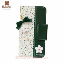 FLABONI Flower Bed Green Wallet Phone Case
