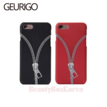 GEURIGO 3Items Zipper Hard Phone Case,Beauty Box Korea