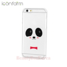 ICONFARM 2Item Cutie Panda Air Jelly Phone Case