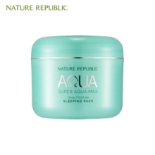 NATURE REPUBLIC Super Aqua Max Deep Moisture Sleeping Pack 100ml, NATURE REPUBLIC