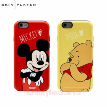 SKIN PLAYER 6Items Disney Protect Name Star Phone Case,Beauty Box Korea