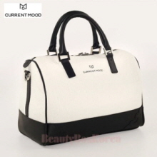 CURRENT MOOD Cabinet Boston Bag S White,Beauty Box Korea