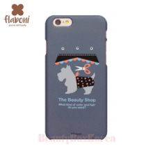 FLABONI The Beauty Shop Skinny Case Flower Grey