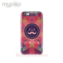 MYPOP 2Items Hipster Tough Phone Case,Beauty Box Korea