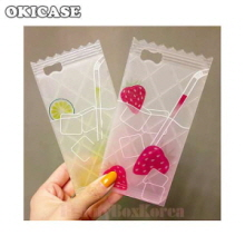 OKICASE 2Item Unique Fruit Juice Phone Case,OKICASE