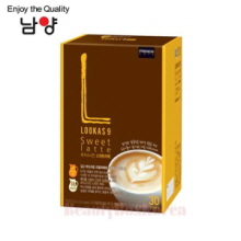 NAMYANG Lookas 9 Sweet Latte 16.9g*30T,Beauty Box Korea