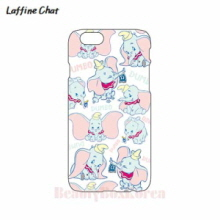 RAFFINE CHAT Dumbo White Pattern Hard Phonecase